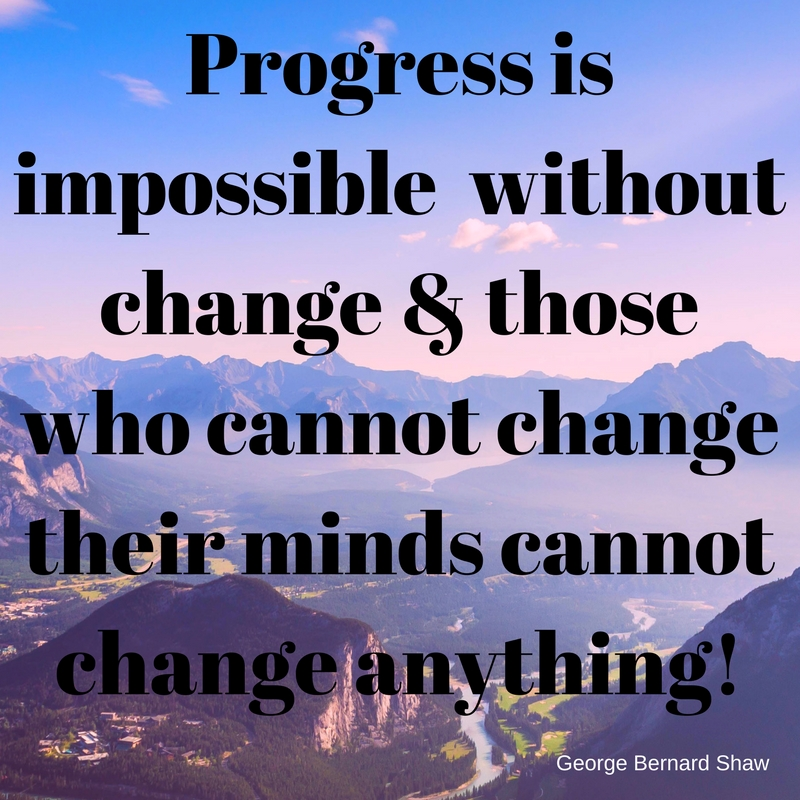 progress without change quote