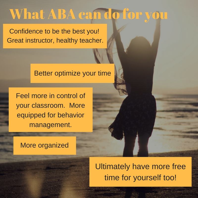 what aba can do for you, teacher