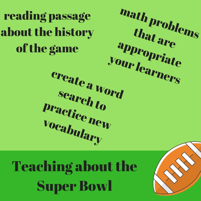 Lessons about the Super Bowl